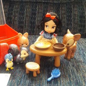 Snow White play set. (Animators collection)